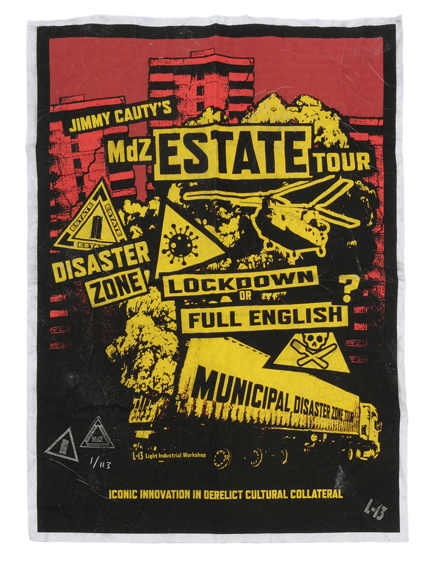 JC red and yellow MDZ Tour poster 4