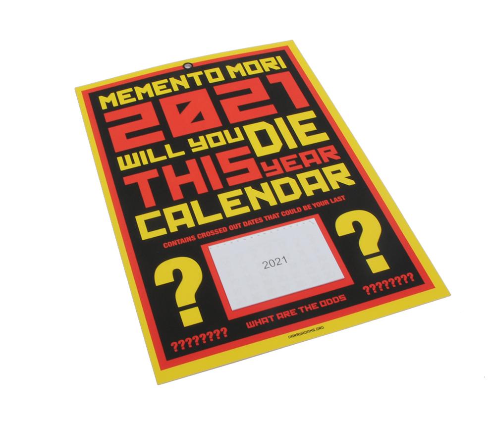 Harry Adams Calendar 1